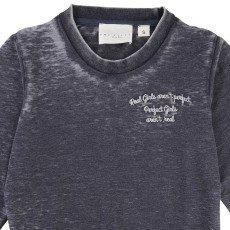 UNE FILLE today I am Washed Sweatshirt-listing