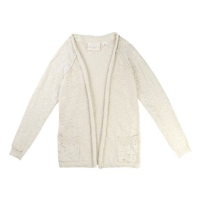 UNE FILLE today I am Cardigan Loose-listing