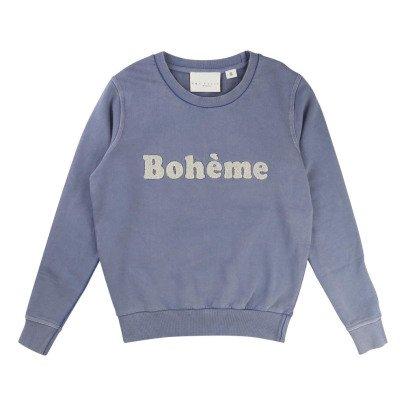"""UNE FILLE today I am Felpa """"Bohème"""" -listing"""