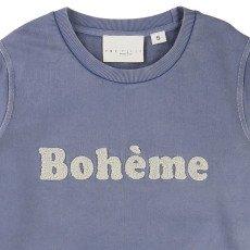 """UNE FILLE today I am """"Bohème"""" Boucle Sweatshirt-listing"""