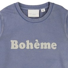 "UNE FILLE today I am Sweat ""Bohème"" Bouclé-listing"