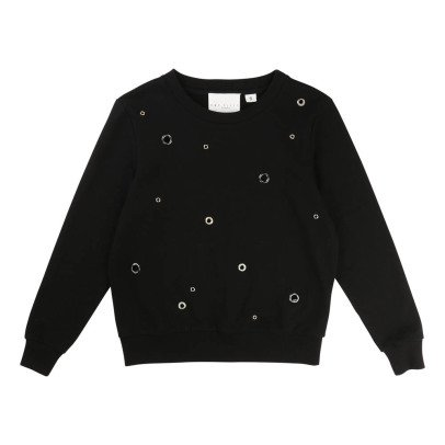 UNE FILLE today I am Carnation Sweatshirt-listing