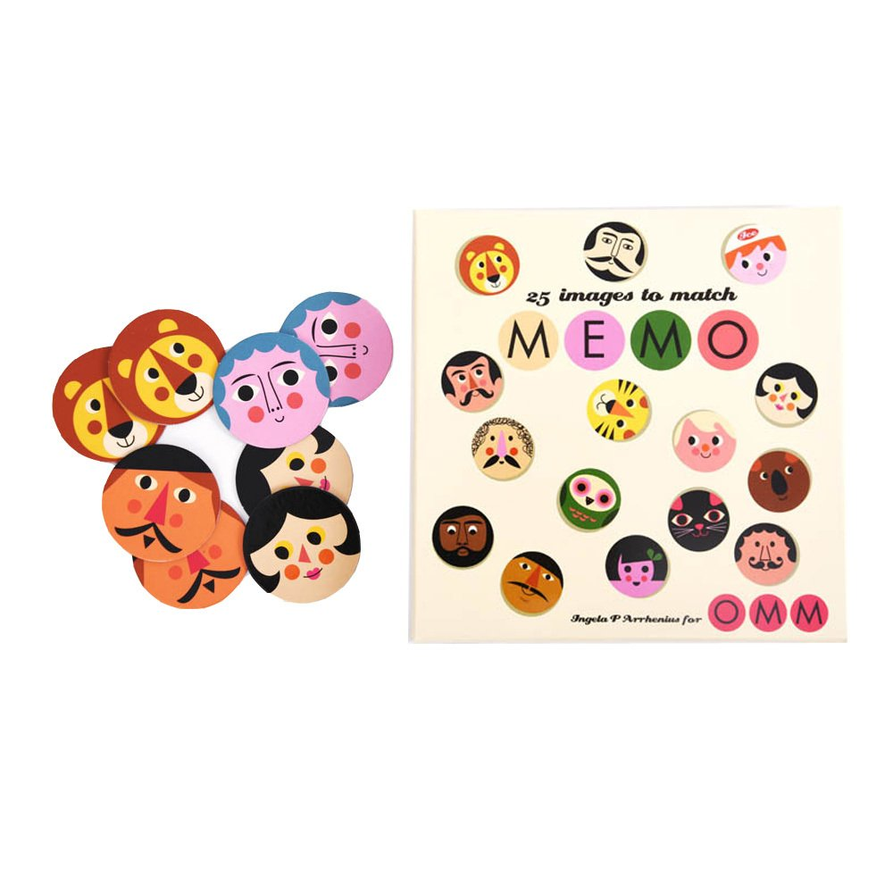 Omm Design Memospiel -product