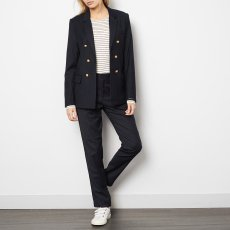Les coyotes de Paris Striped Wool Holly Trousers-listing