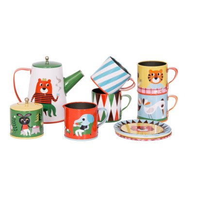 Omm Design Metal Doll's Tea Set-listing