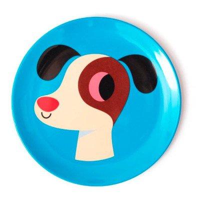 Omm Design Dog Plate-listing