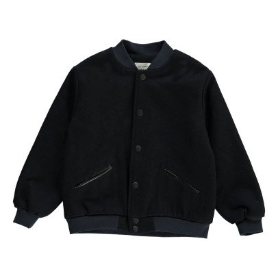 Les coyotes de Paris Marnie Wool Bomber with Embroidered Back-product