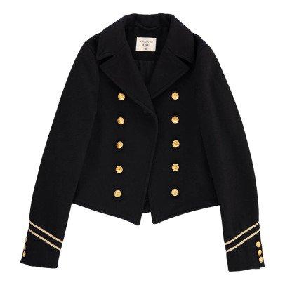 Les coyotes de Paris Wool Amelie Military Jacket-listing