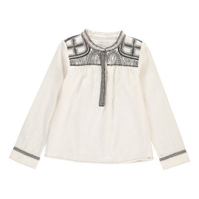 Les coyotes de Paris Embroidered Stéphanie Blouse-listing