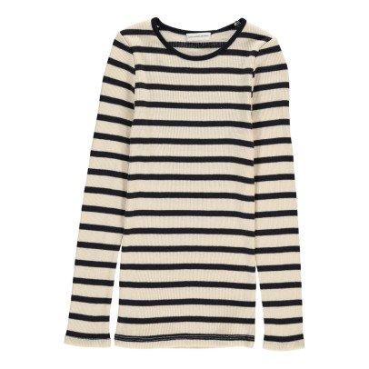 Les coyotes de Paris Striped Romie T-Shirt-listing
