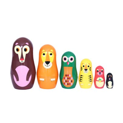 Omm Design Animals Matrioshca Dolls-product