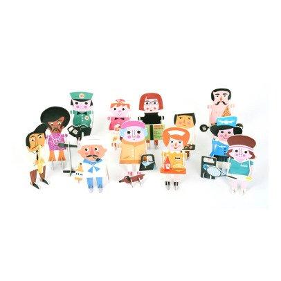 Omm Design Puzzle 3D Personaggi-listing