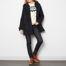 Les coyotes de Paris Katie Wool Duffle Coat-listing