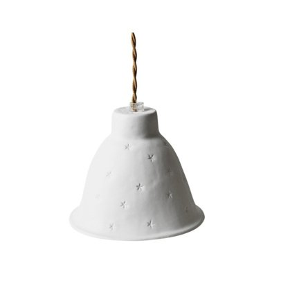 Alix D. Reynis Porcelain Evening Star Ceiling Light 15x20cm-listing