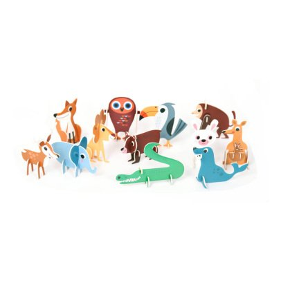 Omm Design Puzzle 3D animaux-product