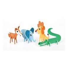 Omm Design Puzzle 3D animaux-listing