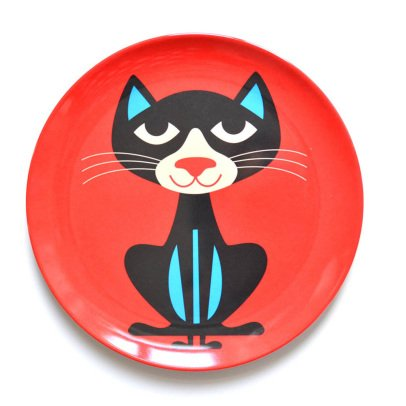 Omm Design Cat Plate-product