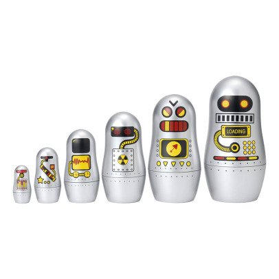 Omm Design Poupées Matrioshca Robots-product