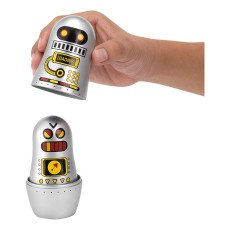 Omm Design Robots Matrioshca Dolls-listing