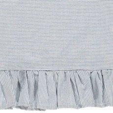 Mads Norgaard  Dacia Striped Ruffle Dress-listing