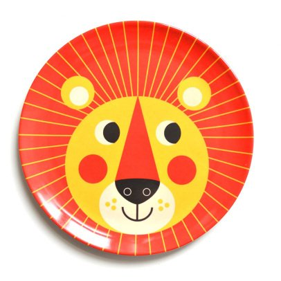 Omm Design Assiette Lion-listing