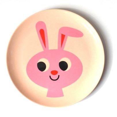 Omm Design Rabbit Plate-listing