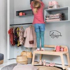 Rafa Kids Banc avec dos-listing
