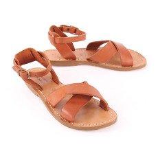 Les coyotes de Paris Giulia Handmade Leather Sandals-listing