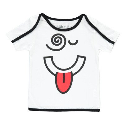Kidscase Kidscase x Antoine Peters Bobby Dizzy Organic Cotton Face T-Shirt-listing