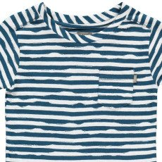 Kidscase T-shirt Rayé Coton Bio Wave-listing