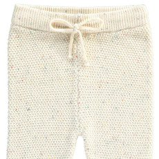 Lab - La Petite Collection Jogger Maille Point Fantaisie Moucheté-listing