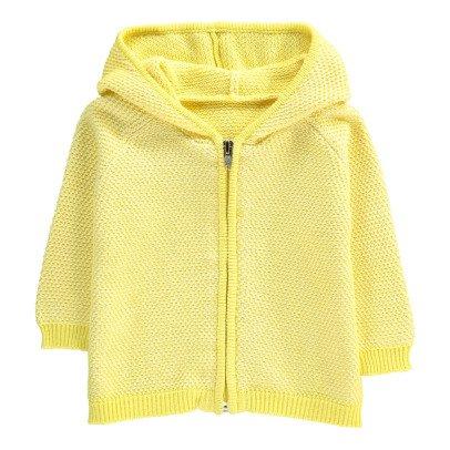 Lab - La Petite Collection Fluffy Stitch Hooded Cardigan-listing