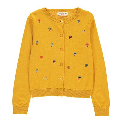 NICE THINGS MINI Embroidered Cardigan-listing