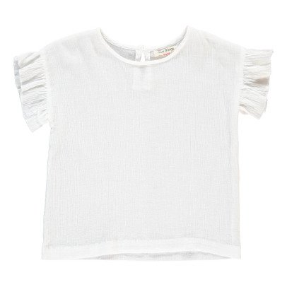 NICE THINGS MINI Frilly Sleeve T-Shirt-listing