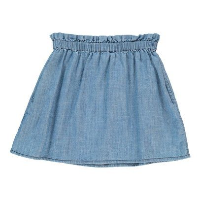 NICE THINGS MINI Jupe Chambray-listing