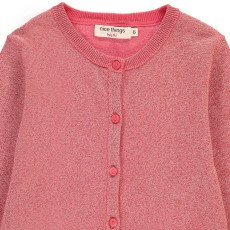 NICE THINGS MINI Cardigan Lurex-listing