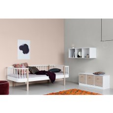 Oliver Furniture Cama Banco 90x200 cm roble-listing