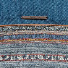 Sessun Jazmin Denim and Jacquard Pouch-listing