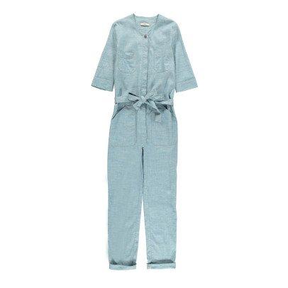 Sessun Combinaison Chambray Coton et Lin Belle Star-listing