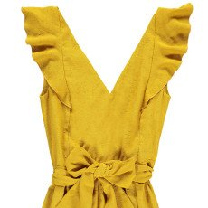 Sessun Kleid mit Rückenausschnitt Volcano -listing