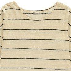 Sessun Honshu Striped Linen T-Shirt-listing