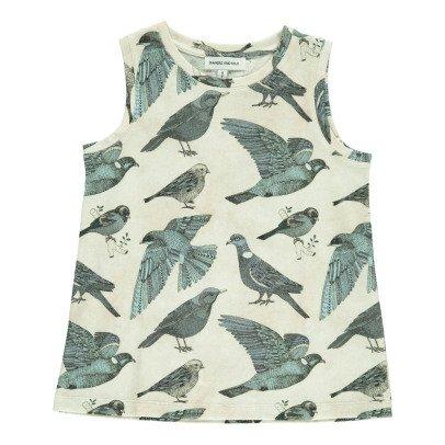 Diapers and milk Batignolles Bird Vest Top-listing