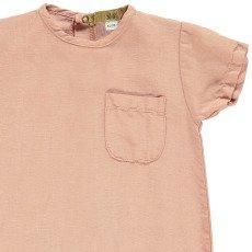 Gold Kajim Cotton an Linen Jumpsuit-listing