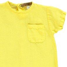 Gold Kajim Cotton an Linen Jumpsuit-product