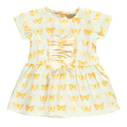 Gold Kole Butterfly Bow Dress-listing