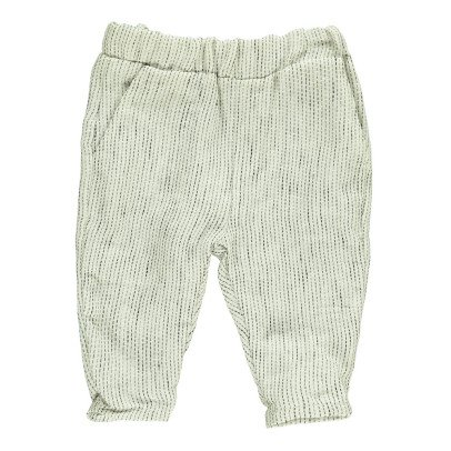 Gold Bocco Dotted Trousers Light grey-product