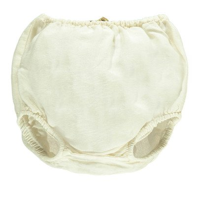 Gold Bob Cotton an Linen Bloomers White-product