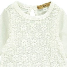 Gold Terita Lace T-Shirt  White-listing