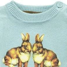 Gold Pol Rabbit Jumper Light blue-listing