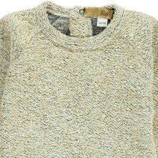 Gold Sura Lurex Sweatshirt Gold-product